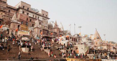 Мрачный индийский город Варанаси