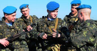 Новый полк Воздушно-десантных войск (ВДВ) в Крыму