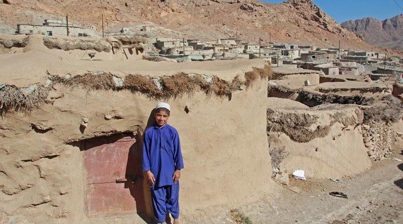 Отдаленный уголок иранской провинции Южный Хорасан