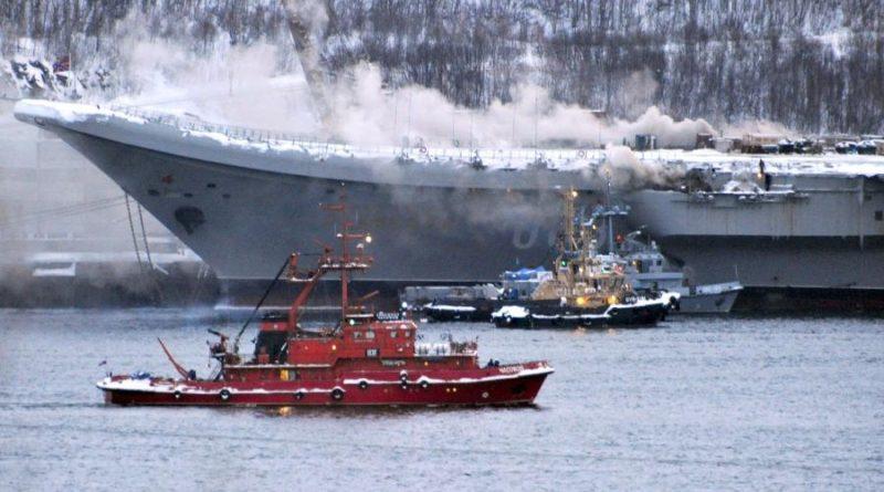 Пожар в красках: что стало причиной ЧС на авианосце «Адмирал Кузнецов»