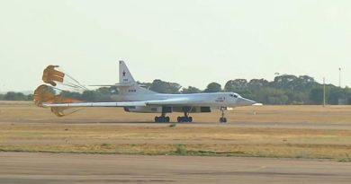 Самолеты дальней авиации ВКС России впервые прибыли в ЮАР