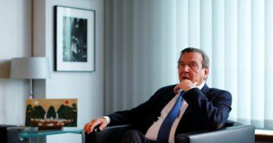 Шрёдер призвал Берлин не мириться с санкциями США против «Северного потока — 2»
