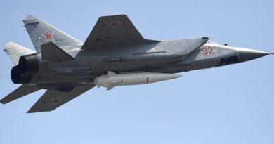 К ракетному барьеру: флотские МиГ-31 с «Кинжалами» закроют берега России