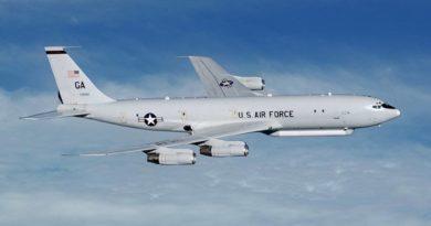 Разведывательный самолет ВВС США совершил очередной полет над Корейским полуостровом