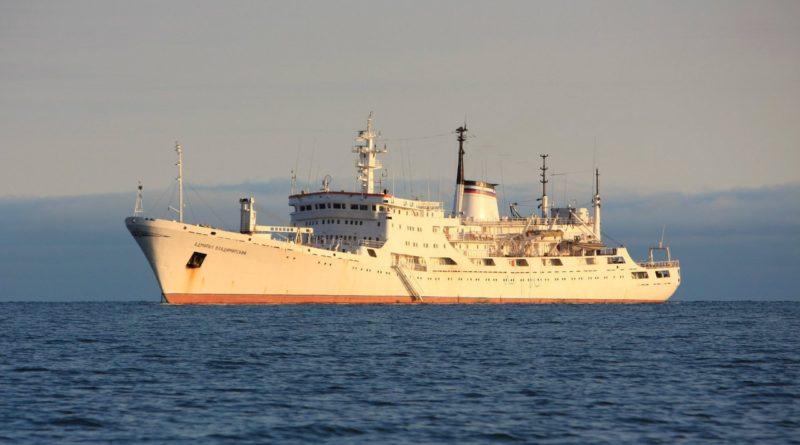 «Адмирал Владимирский» обновляет морские навигационные карты