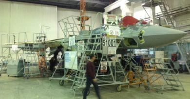 В Хабаровском крае разбился истребитель Т-50