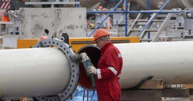 Завершение строительства «Северный поток – 2» может затянуться на 3–6 месяцев