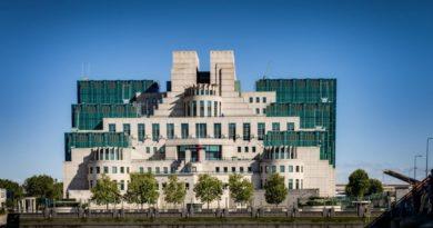 При ремонте здания британской разведки MI-6 пропали секретные документы