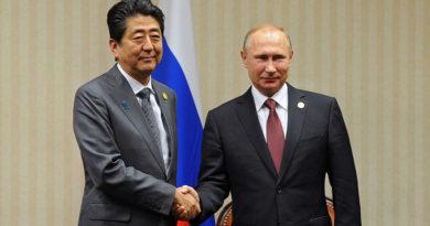 Абэ заявил о намерении добиться подписания мирного договора с Россией