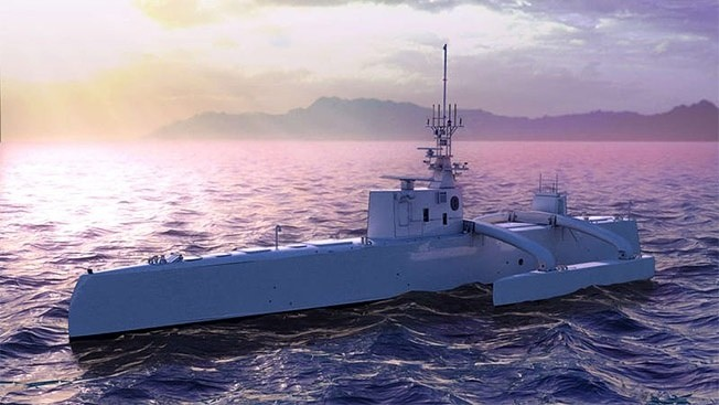 Беспилотные корабли - флотилия нового поколения