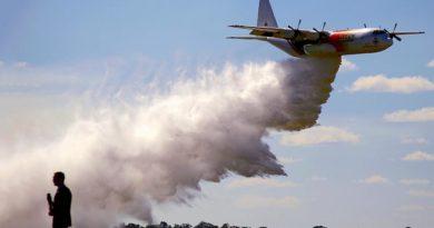 В Австралии потеряли связь с тушившим лесные пожары самолётом