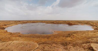 Гаэтале — самое соленое озеро в мире