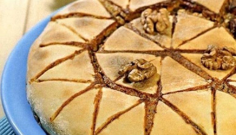 Греческий ореховый пирог