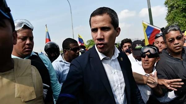 Гуаидо сняли с поста главы Национальной ассамблеи Венесуэлы