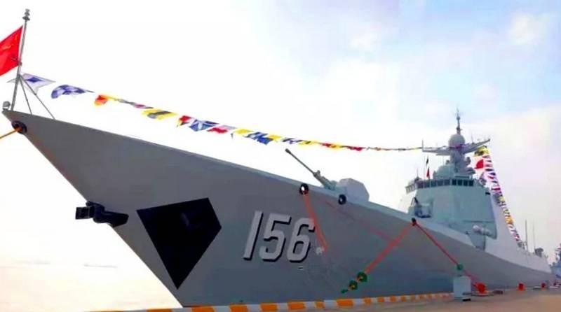 Китай демонстрирует впечатляющие темпы ввода в строй боевых кораблей