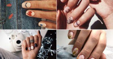 Маникюр на короткие ногти: идеи на зиму 2020