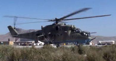 Подтверждена информация о падении вертолёта Ми-35 в Афганистане