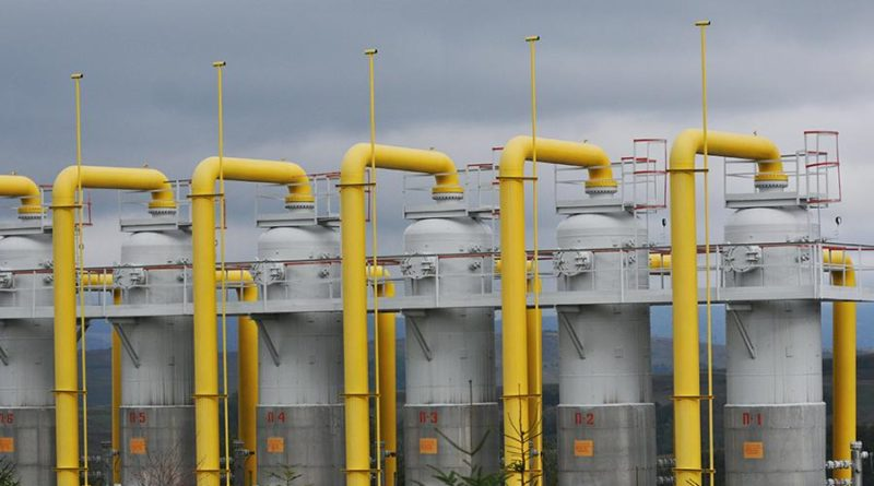 Транзит газа через Украину упал в пять раз с начала года