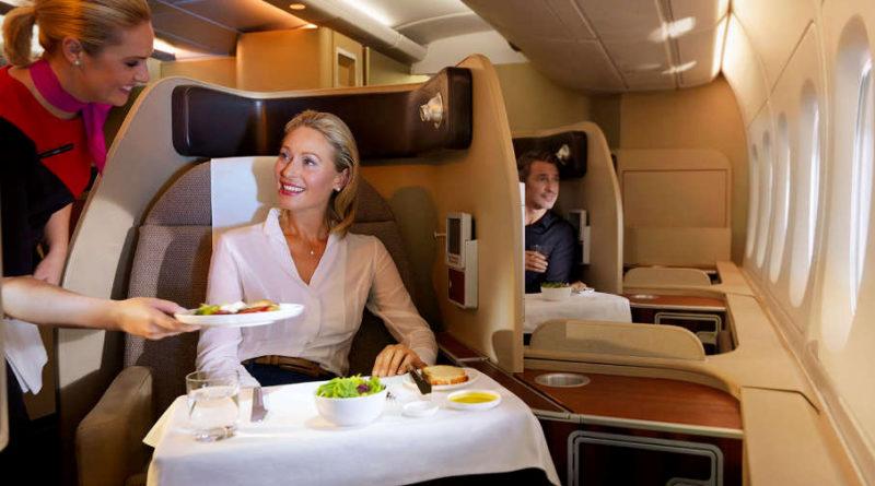 Чем отличаются классы обслуживания в самолете?