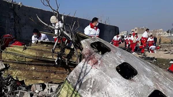 Эксперт объяснил повреждения на корпусе разбившегося в Иране лайнера