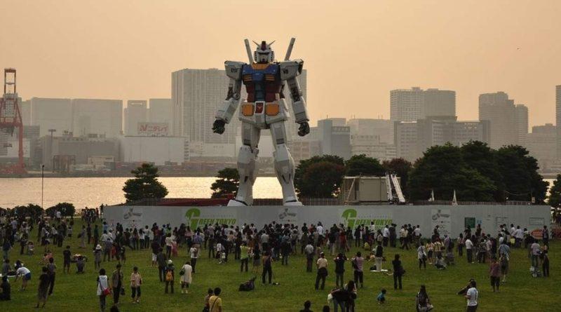 В Японии собираются построить шагающего боевого робота из аниме