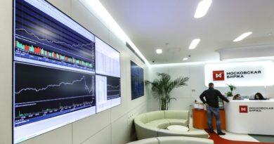 Индекс Мосбиржи в ходе торгов превысил отметку в 3100 пунктов, обновив исторический максимум.