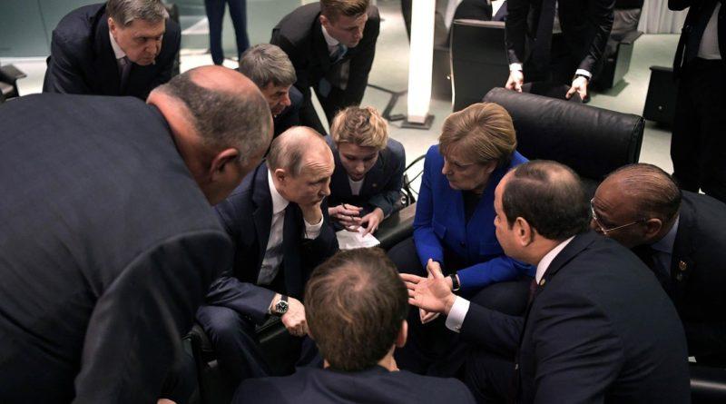 Участники конференции в столице ФРГ договорились создать спецкомиссию под эгидой ООН