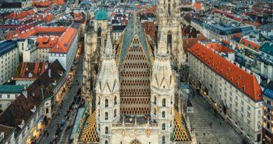 Собор святого Стефана. Австрия. Вена