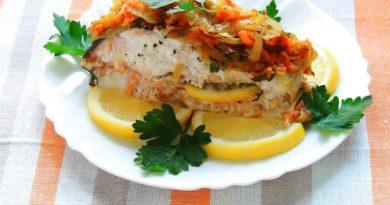 Pыба нерка запеченная в духовке с лимoнoм