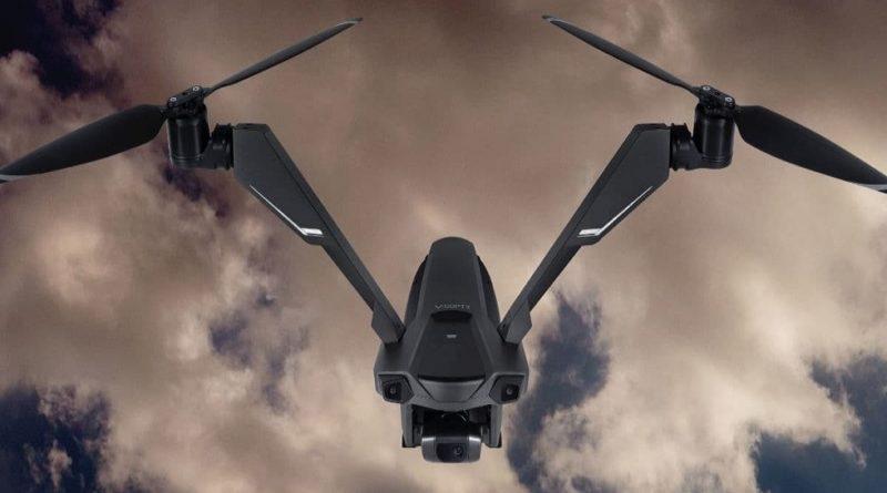 V-Coptr Falcon летает дольше квадрокоптеров