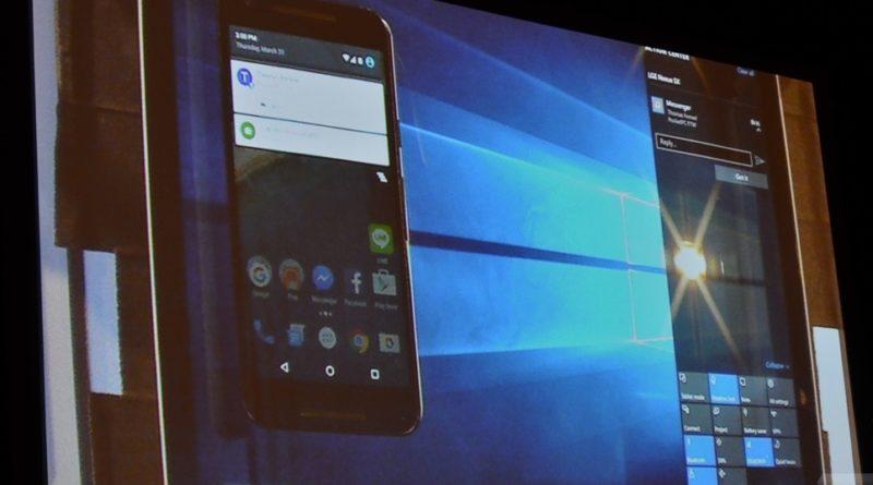 Windows 10 получит функцию быстрого обмена файлами с Android-гаджетами