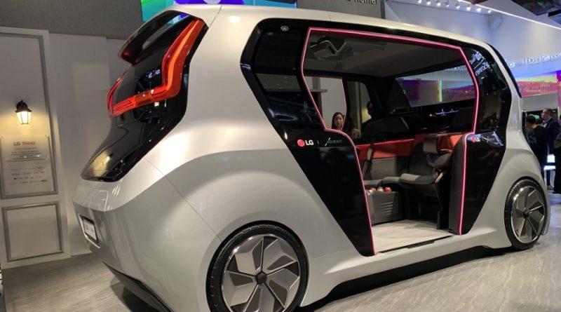Беспилотный электрический микроавтобус Origin