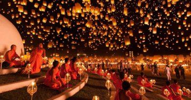 Лои Кратонг — праздник воды и света