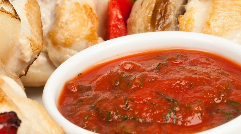 Соус из помидоров для шашлыка