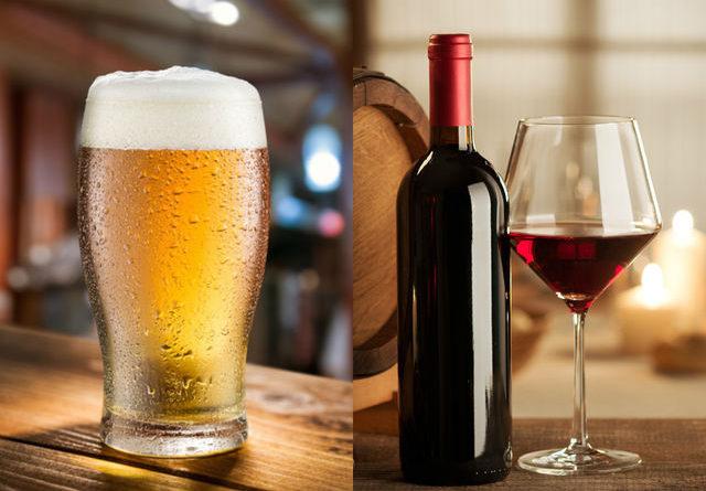 Что лучше: пиво или вино?