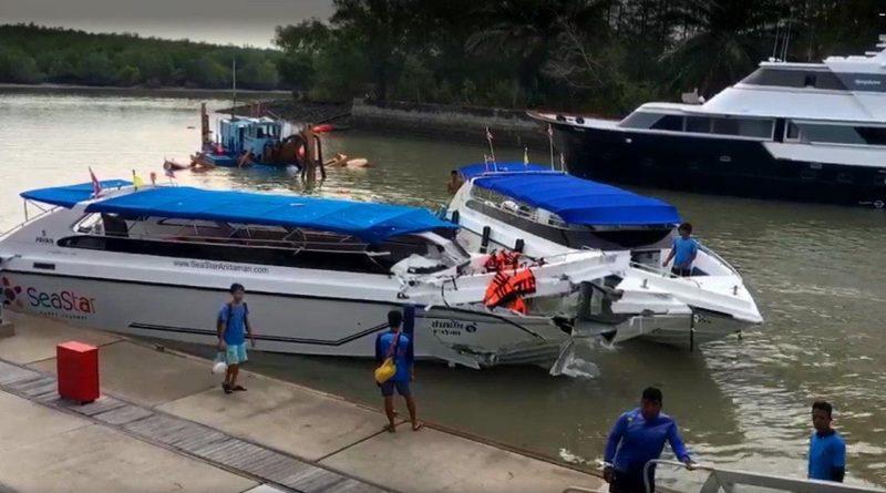 При столкновении скоростных катеров у острова Пхукет погибли двое детей из России