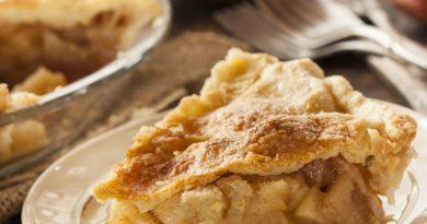 Яблочный пирог по рецепту Марты Стюарт