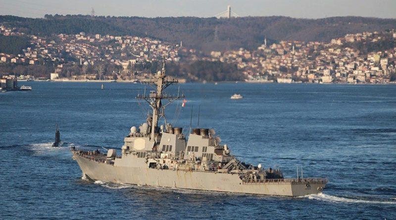 Эсминец «свободы»: ВМС США объяснили заход американского военного корабля в Чёрное море
