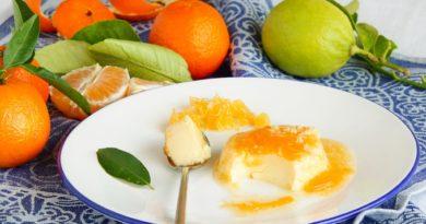 Лимонно-апельсиновый мусс