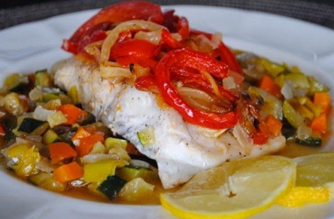 Рыбное филе с фенхелем