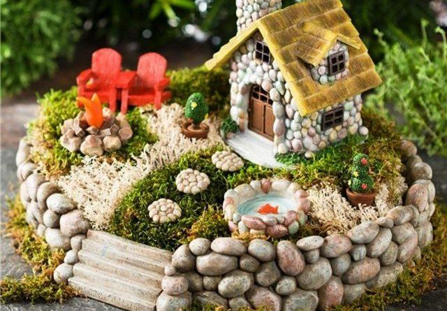 Домики для фей в вашем саду