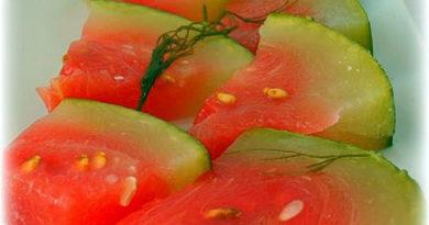 Как засолить арбузы?