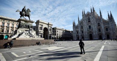 Как живет север Италии на карантине