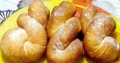 Корейские пончики на кефире