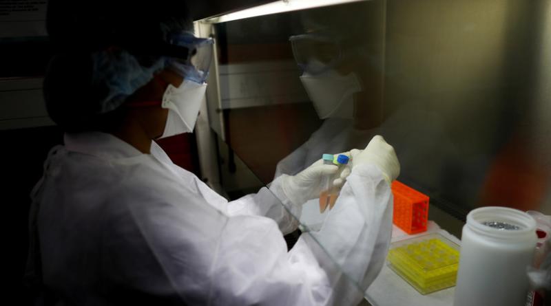 Общее число зараженных коронавирусом SARS-CoV-2 по странам на 18 марта