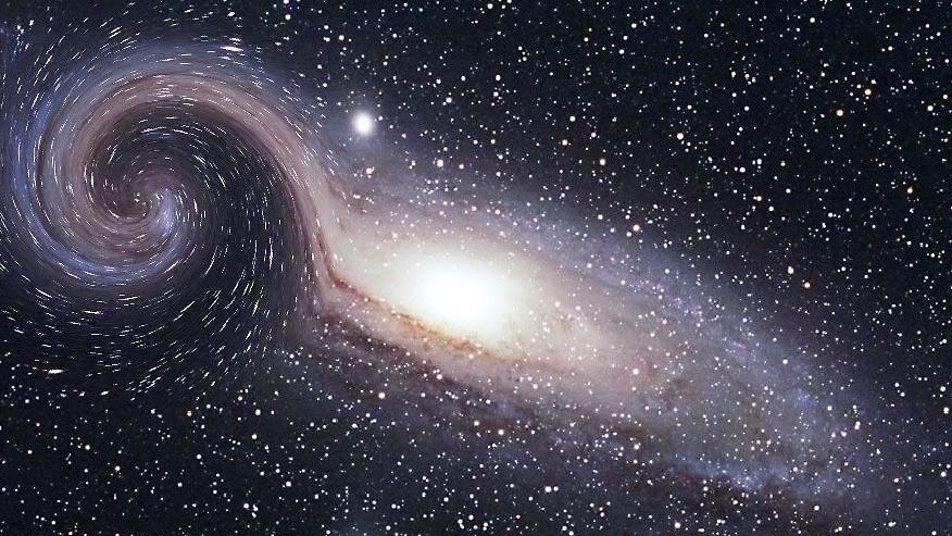 Полувековая загадка искривления нашей галактики раскрыта