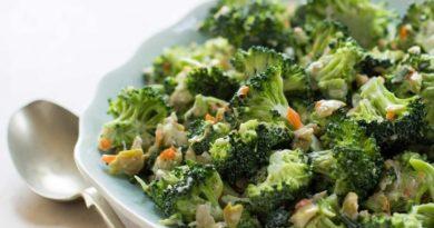 Салаты с брокколи, которые можно есть в любой прием пищи