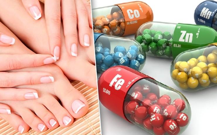 Самые важные витамины для роста и укрепления ногтей