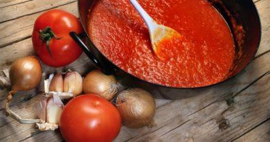 Соус из помидоров к мясу