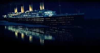 Титаник никогда не сталкивался с айсбергом и не тонул